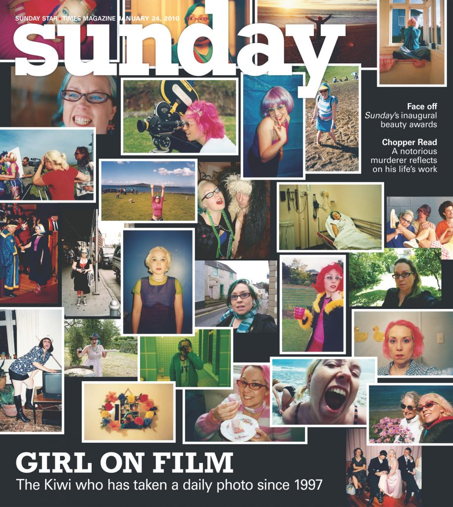 Sunday Cover, Girl On Film, Daily Photos, portrait, photography, cover, magazine, woman