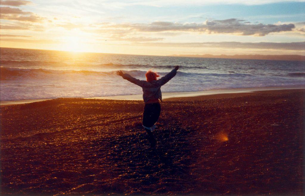 Daily Photo, 1 January 2000, Millennium Sunrise, new dawn, nice light, photography, beach
