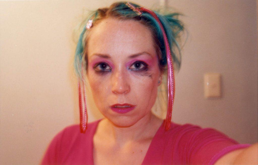 Daily Photo, c.2000, Breakup Tears, self portrait, portrait, woman, photography