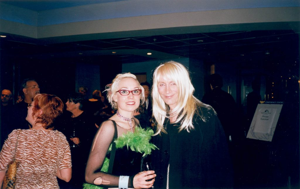 Daily Photo, 16 November 2002, Meeting Riff Raff!, photography, portrait, riff raff, rocky horror picture show