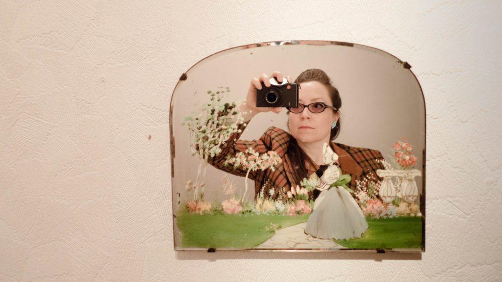 Daily Photo, 6 April 2013, Margate Mirror, second hand shop, mirror, self-portrait, portrait, photography