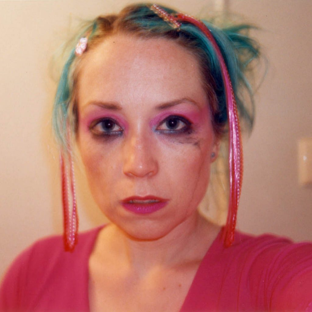 Daily Photo, c.2000, Breakup Tears, self portrait, portrait, woman, photography